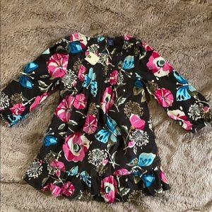 NWT Baby Gap Floral Corduroy Dress